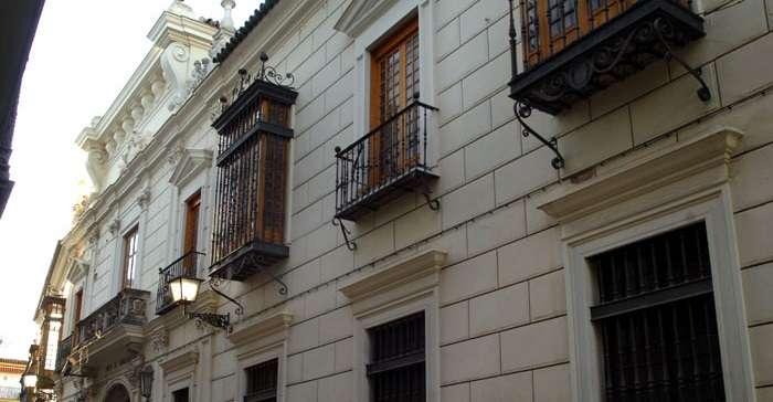 Palacio de Monsalves en Sevilla