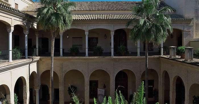 Palacio de los Marqueses de La Algaba en Sevilla
